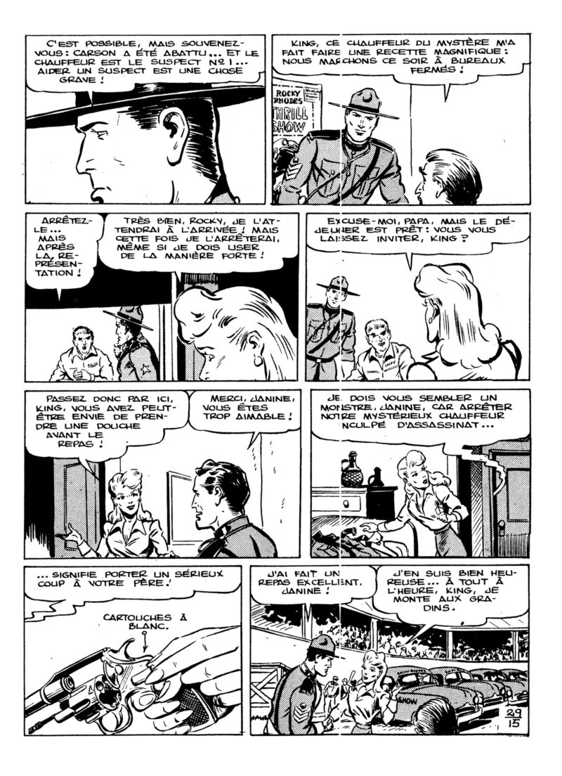 9ème Art, musée de la bande dessinée par Morris et Vankeer - Page 3 King_024