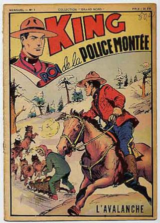 9ème Art, musée de la bande dessinée par Morris et Vankeer - Page 2 King_r10