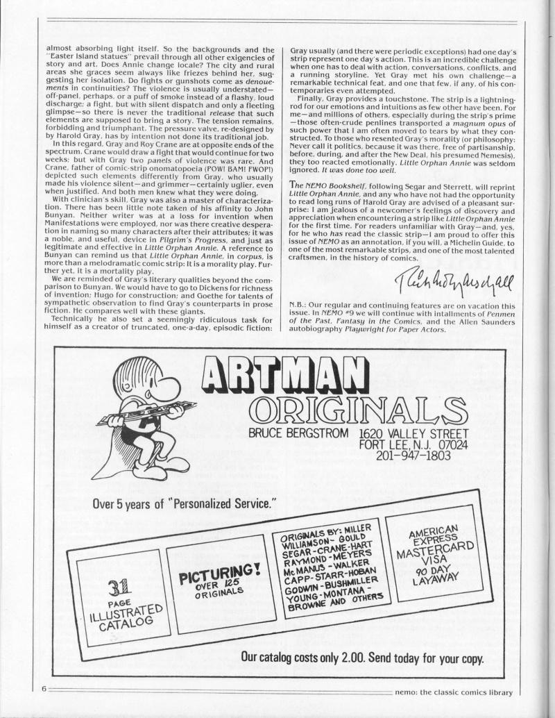 9ème Art, musée de la bande dessinée par Morris et Vankeer - Page 9 Nemo_017