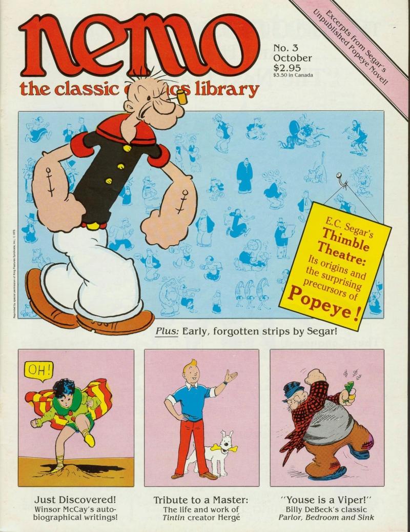 9ème Art, musée de la bande dessinée par Morris et Vankeer - Page 13 Nemo_077
