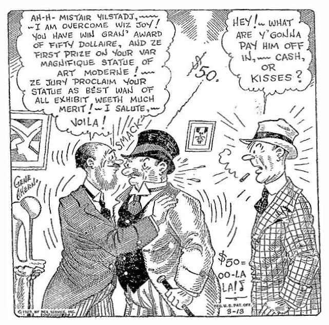 9ème Art, musée de la bande dessinée par Morris et Vankeer - Page 23 Obh-2916