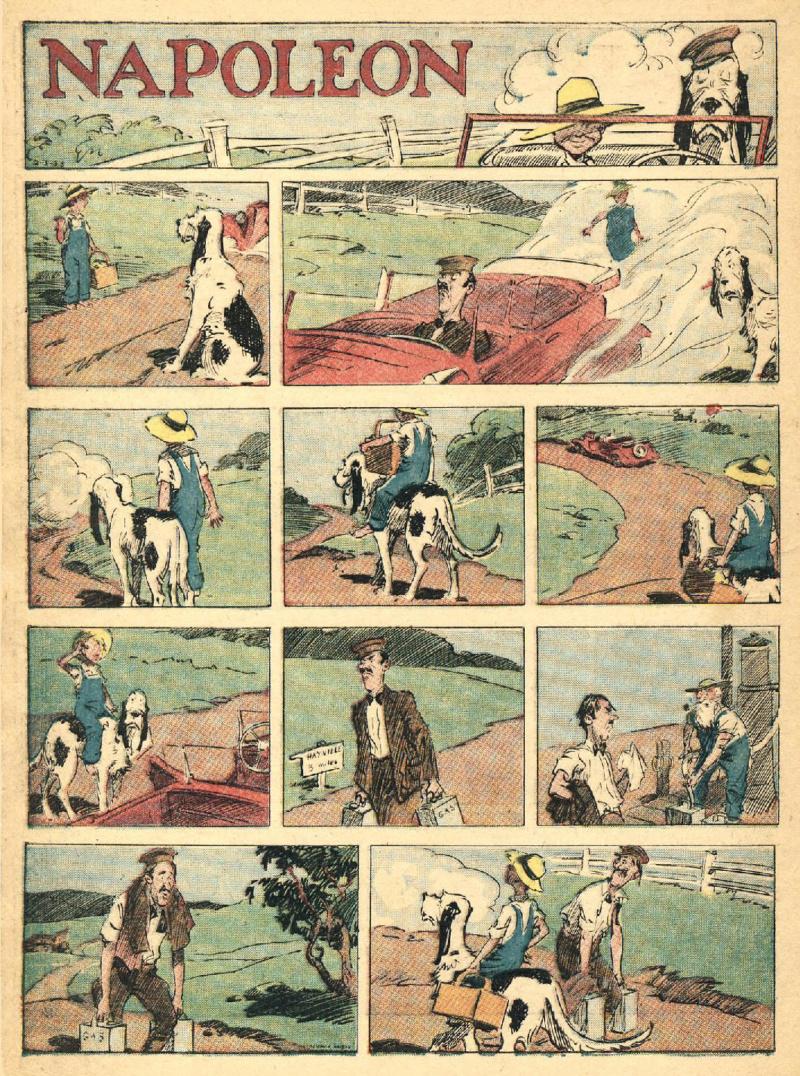 9ème Art, musée de la bande dessinée par Morris et Vankeer - Page 2 Page_054