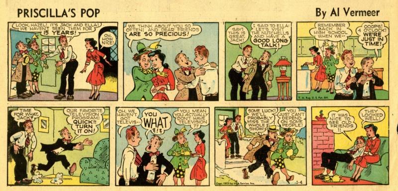 9ème Art, musée de la bande dessinée par Morris et Vankeer - Page 23 Prisci12