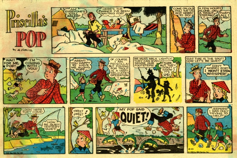 9ème Art, musée de la bande dessinée par Morris et Vankeer - Page 23 Prisci18