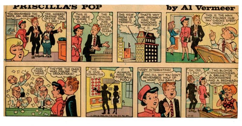 9ème Art, musée de la bande dessinée par Morris et Vankeer - Page 23 Prisci23