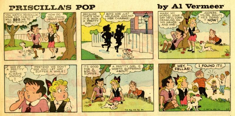 9ème Art, musée de la bande dessinée par Morris et Vankeer - Page 23 Prisci25