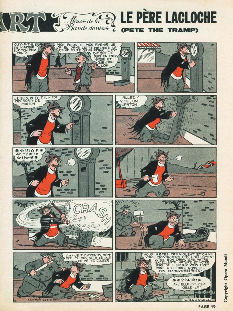 9ème Art, musée de la bande dessinée par Morris et Vankeer - Page 2 S96n1413