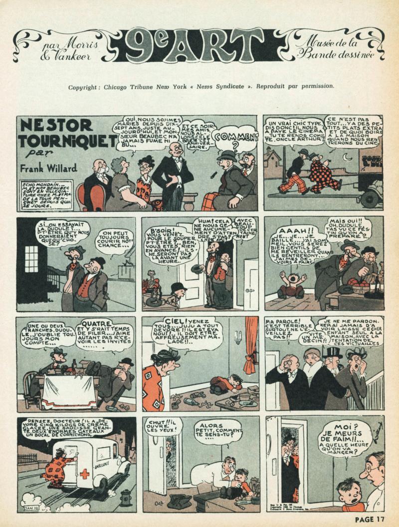 9ème Art, musée de la bande dessinée par Morris et Vankeer - Page 6 S97n1433