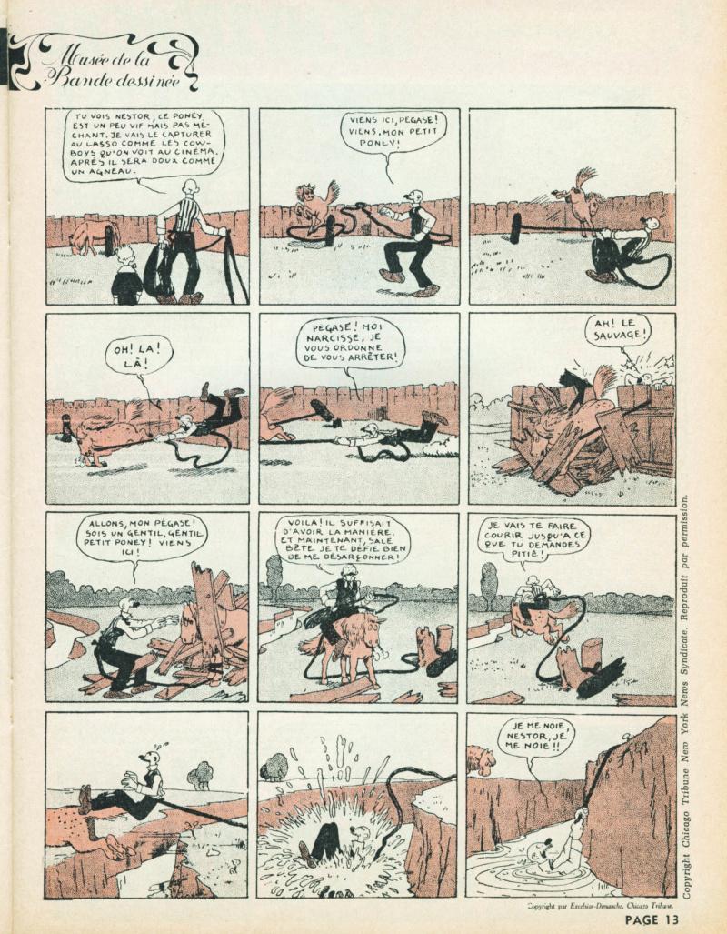 9ème Art, musée de la bande dessinée par Morris et Vankeer - Page 9 S98n1425