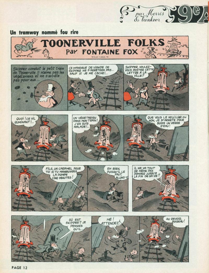 9ème Art, musée de la bande dessinée par Morris et Vankeer - Page 10 S98n1431