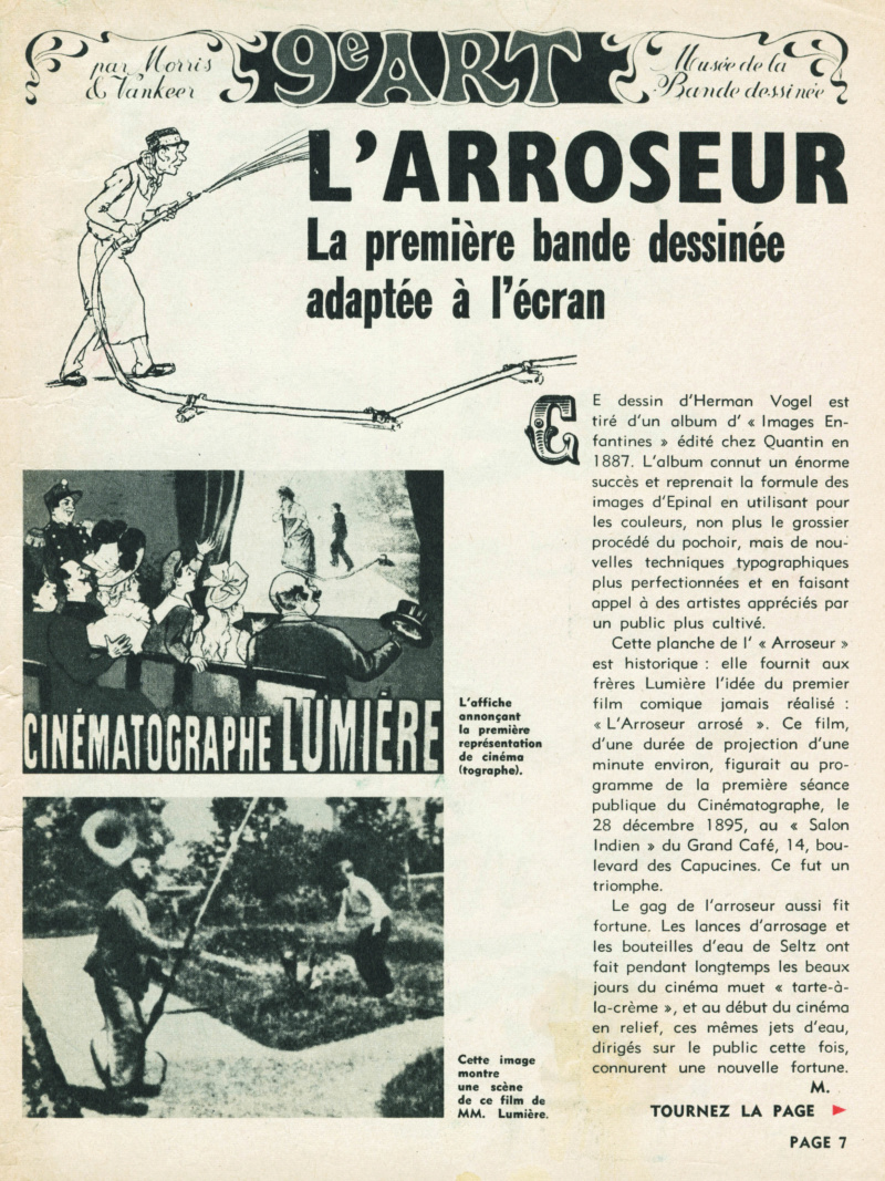 9ème Art, musée de la bande dessinée par Morris et Vankeer - Page 16 S99n1417