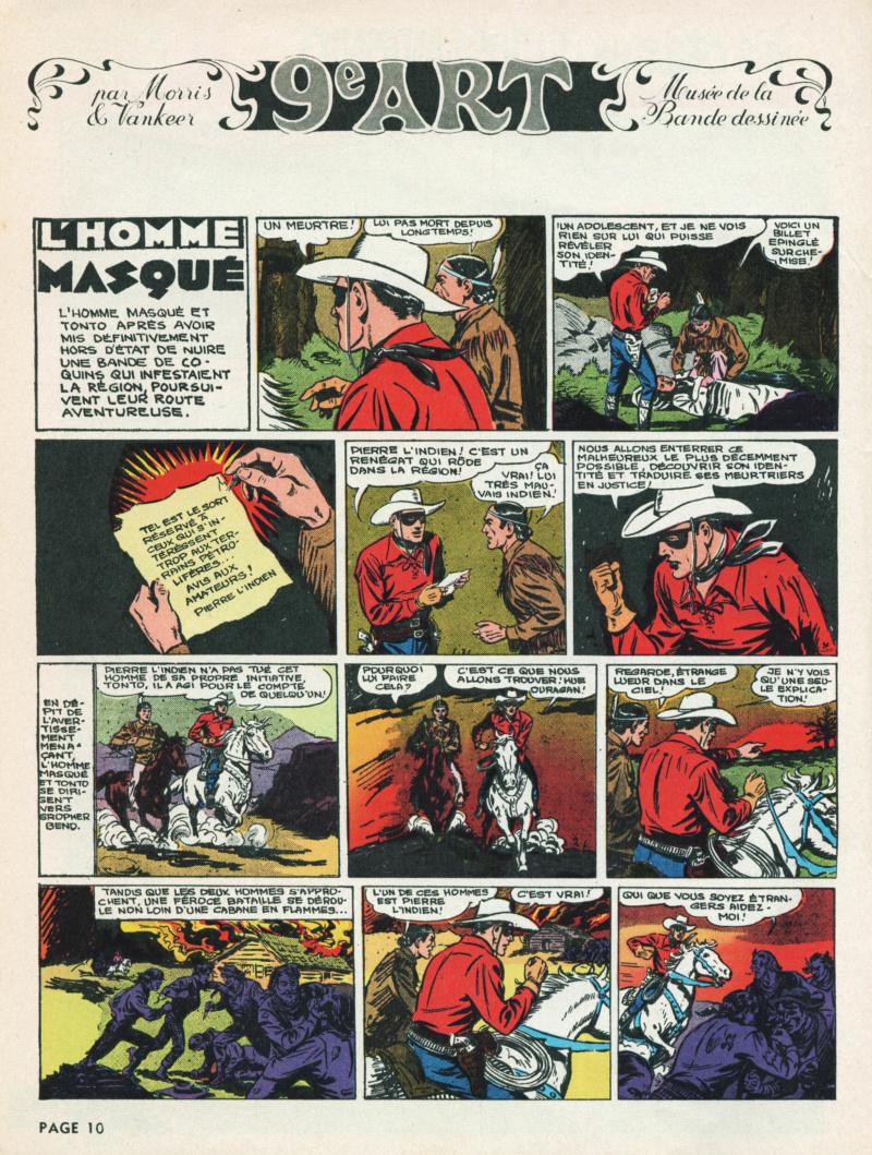 9ème Art, musée de la bande dessinée par Morris et Vankeer - Page 17 T100n111