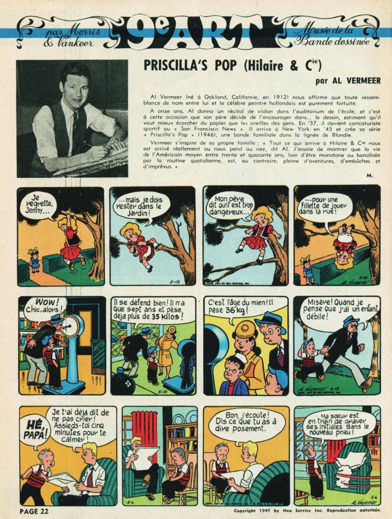 9ème Art, musée de la bande dessinée par Morris et Vankeer - Page 23 T102n110