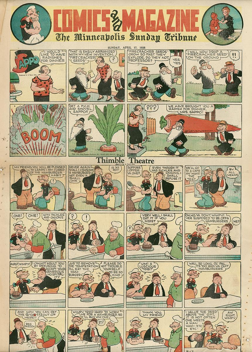 9ème Art, musée de la bande dessinée par Morris et Vankeer - Page 18 The-mi10