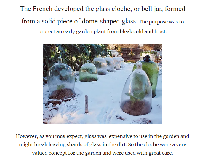 Off Grid/Simple/Natural Living   - Page 2 Cloche10