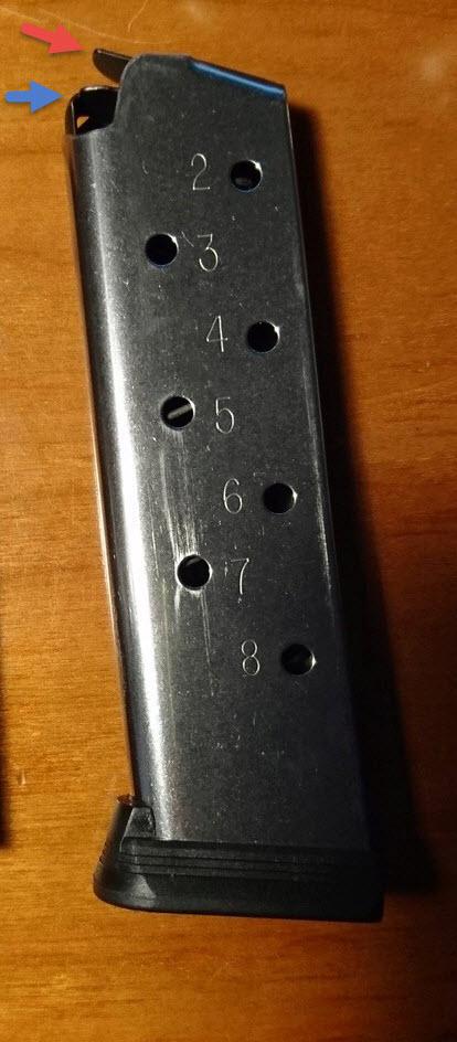 Chargeur WILSON COMBAT compatible S&W 1911 Serie E Dsc_0210