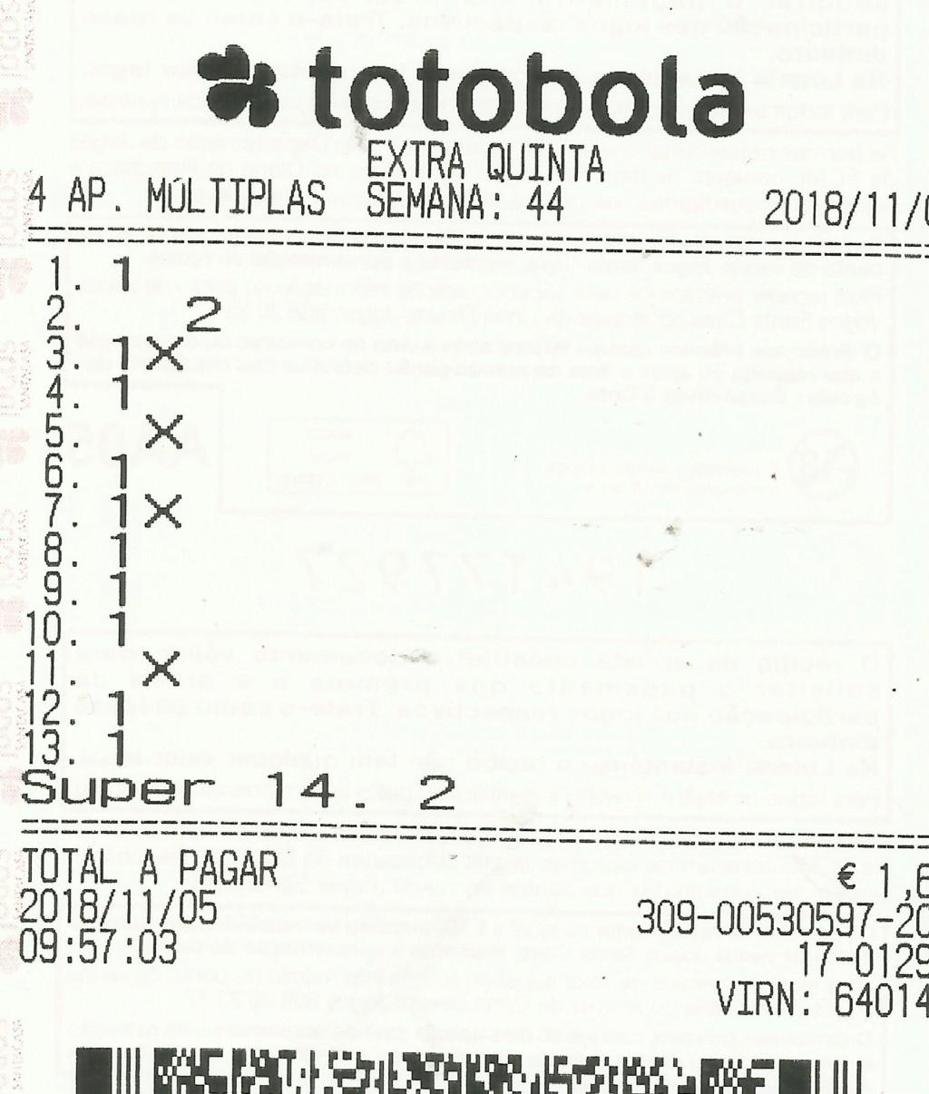 Totobola - Opiniões para o concurso 44_Extra/2018 Totob133
