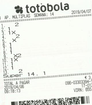 totobola - Totobola - Opiniões para o concurso 14/2019 Totob159