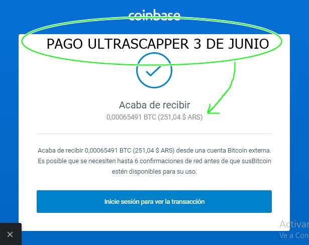 [PAGANDO] ULTRASCAPPER BOT EN AUTOMATICO 80% REFBACK REC PAGO 1 Ultra10