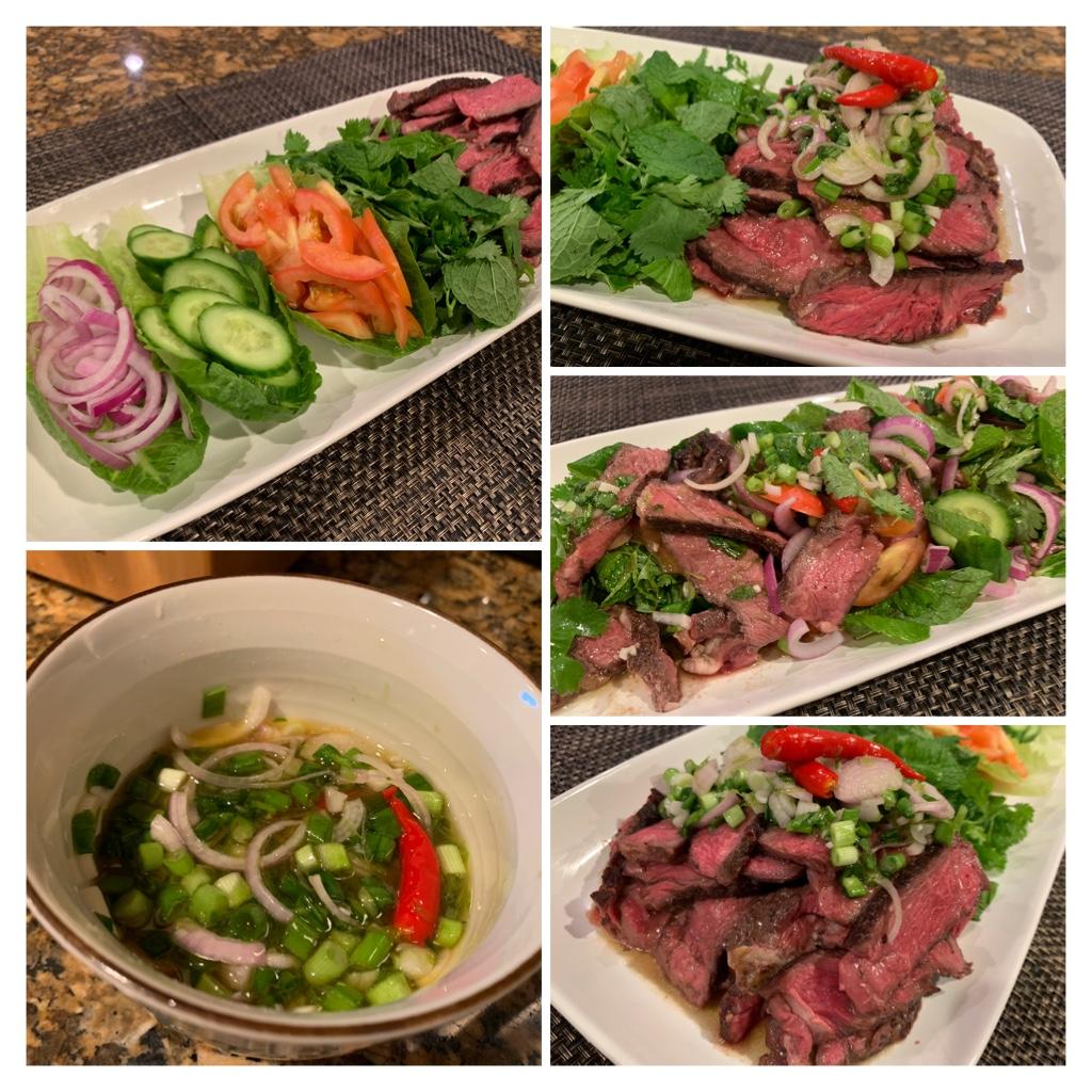 Mời bếp gỏi bò Thái Ab1c5310