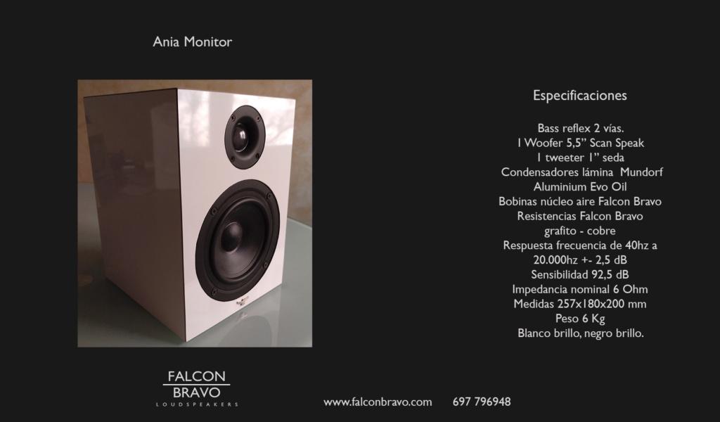 Nuevo modelo Falcon Bravo Loudspeakers Katika11