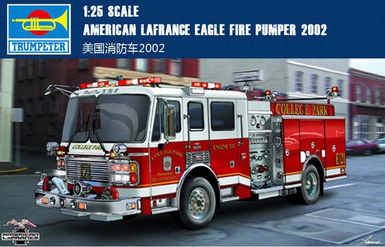 American Lafrance Eagle fire pumper [Trumpeter 1/25] S-l10010