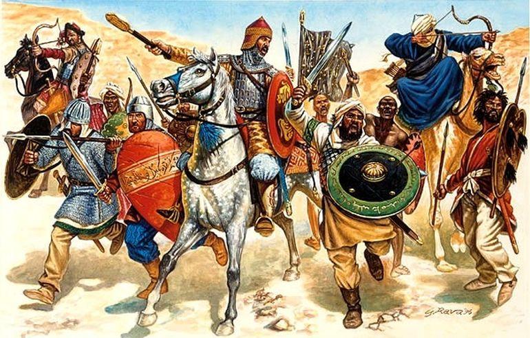Campagne abbasside au Maghreb Banque10