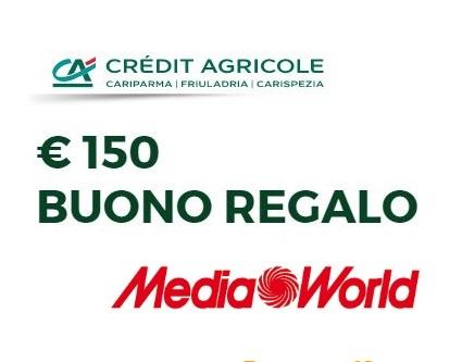 CONTO ADESSO regala BUONO MEDIAWORLD € 150 [promozione scaduta il 30/10/2018] 23310