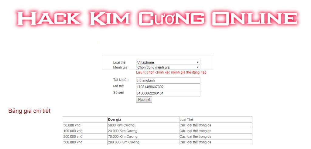Hack Nữ Vương Nổi Loạn Kimcuo10