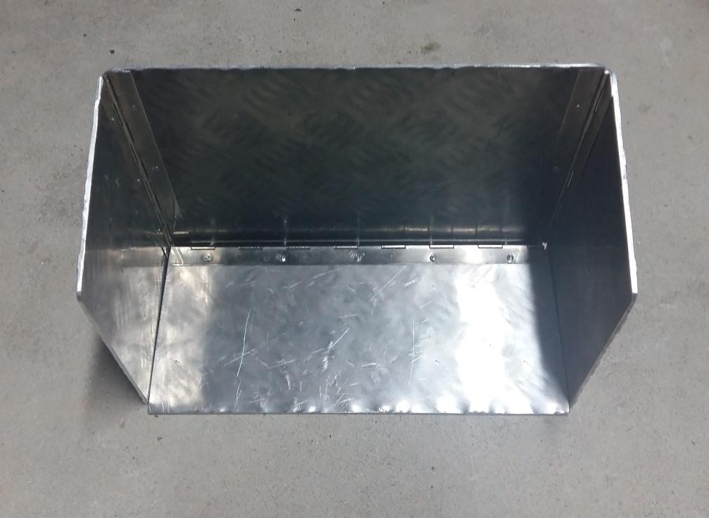 Fabrication déflecteur chauffage 20181211
