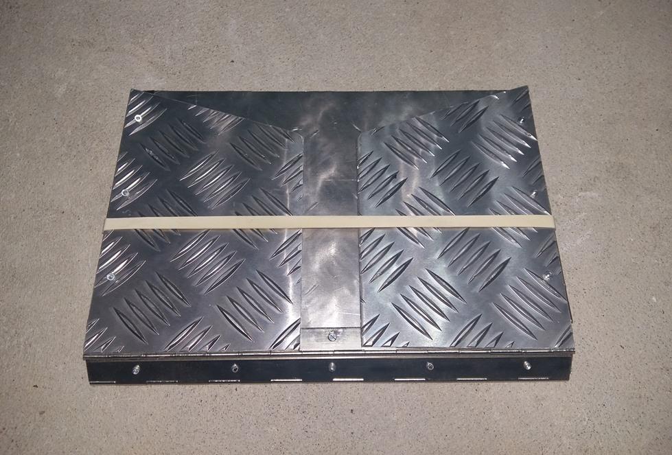 Fabrication déflecteur chauffage 20181213