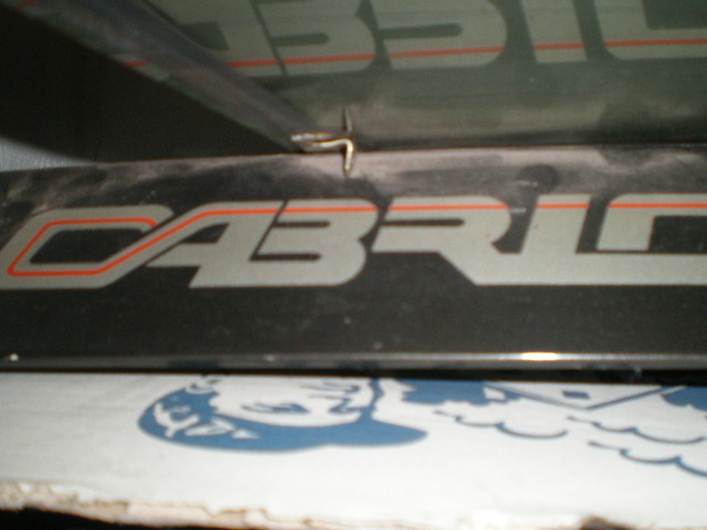 Adesivo baule posteriore Cabrio 448qao12