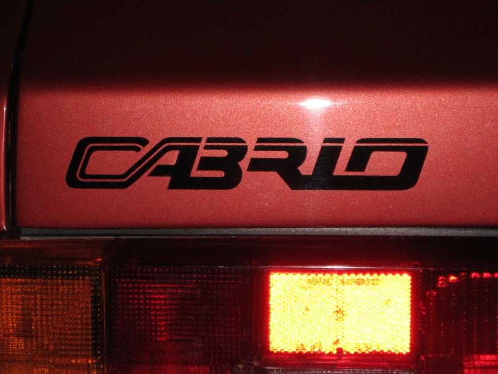 Adesivo baule posteriore Cabrio 6eesmr13