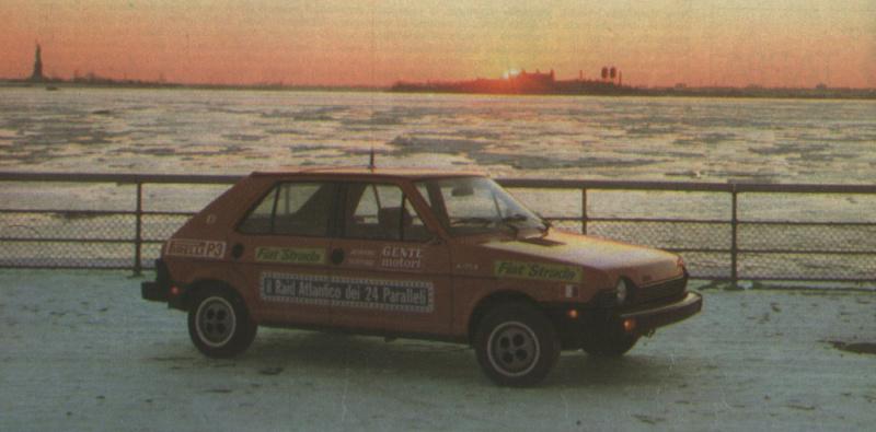 Fiat Strada (USA Ritmo)  Gente Motori S1010