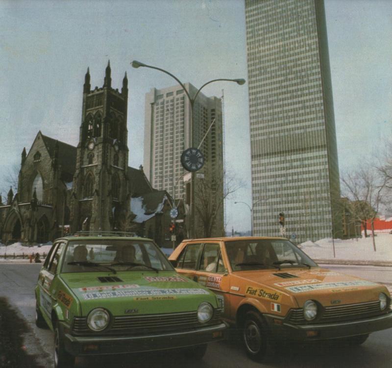 Fiat Strada (USA Ritmo)  Gente Motori S110