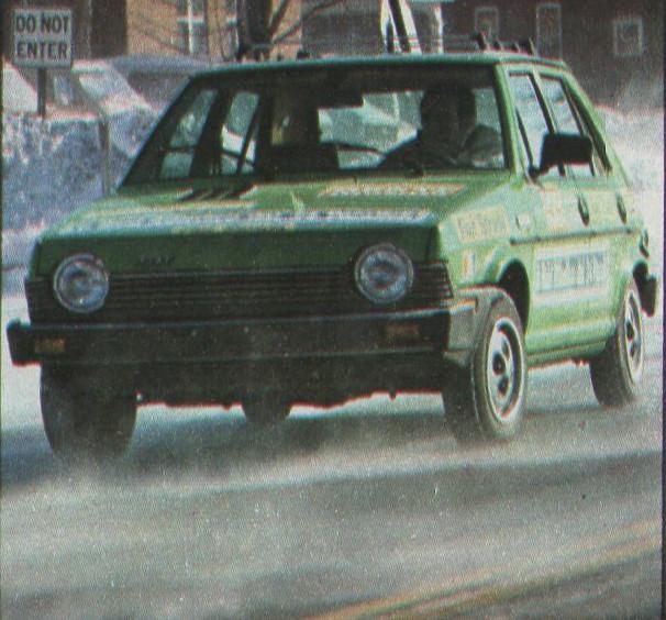 Fiat Strada (USA Ritmo)  Gente Motori S310