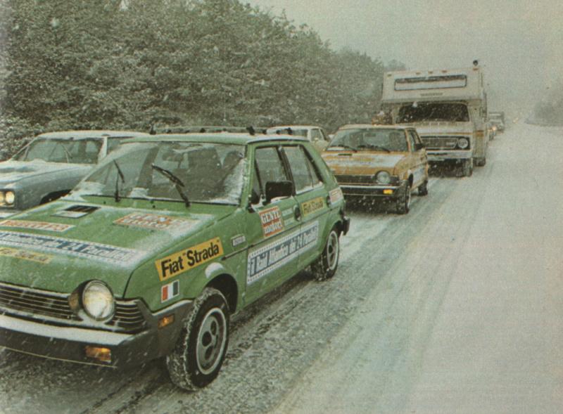 Fiat Strada (USA Ritmo)  Gente Motori S410