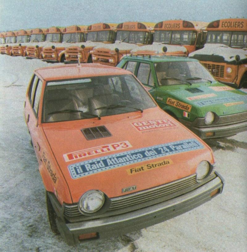 Fiat Strada (USA Ritmo)  Gente Motori S610