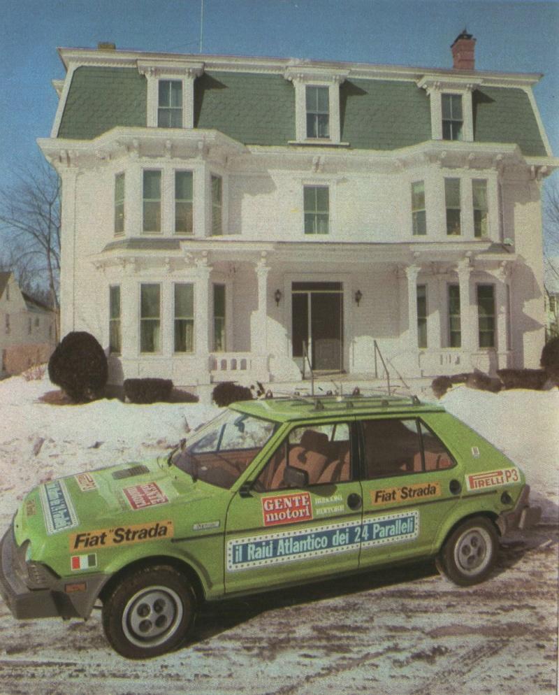 Fiat Strada (USA Ritmo)  Gente Motori S810