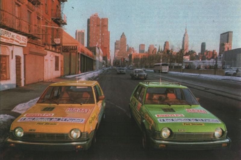 Fiat Strada (USA Ritmo)  Gente Motori S910