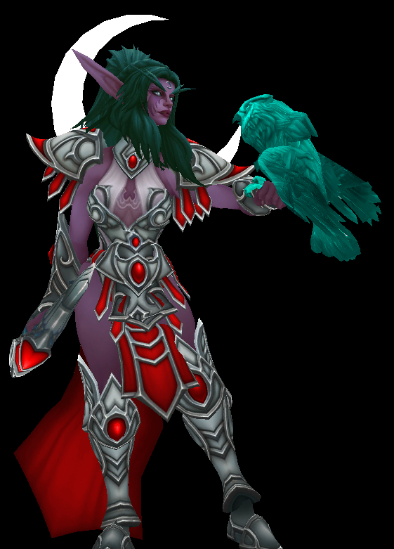 Tyrande Whisperwind (Heroes of the Storm) by MagaRanerth Tyrand11