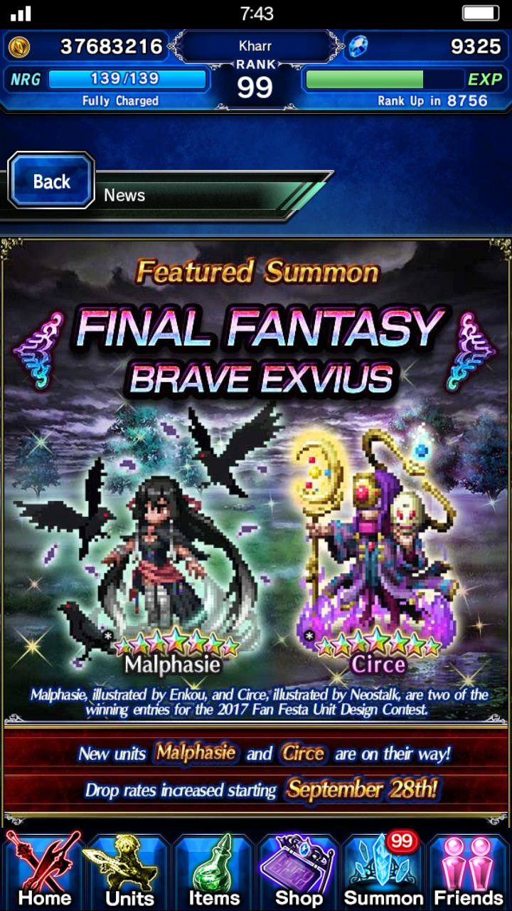 Invocations du moment - FFBE (Hyoh) - Page 5 Screen13