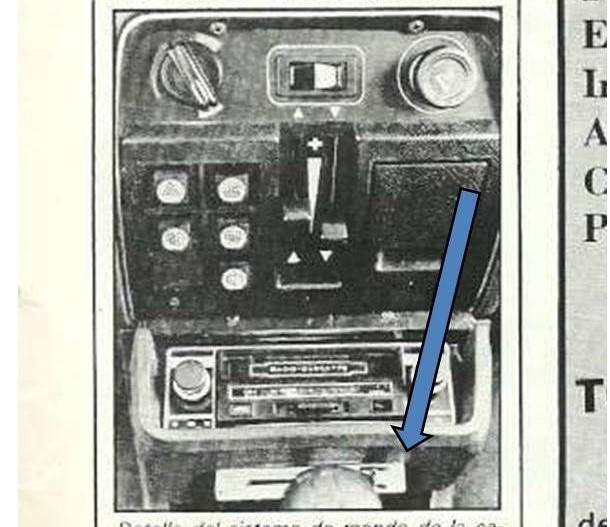 ¿¿Qué es eso bajo el hueco del radiocassette?? Pregun13