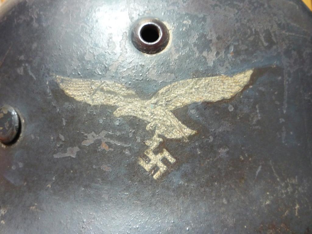 Casque m35 double insignes luft 0212c310