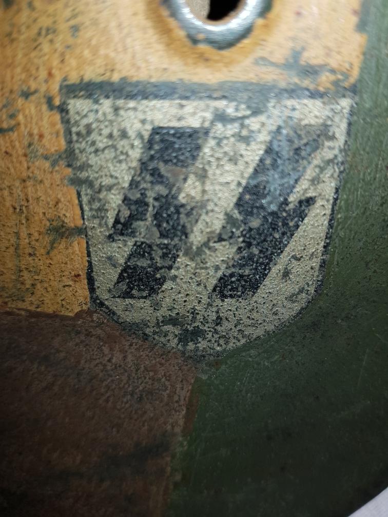 Casque allemand m40 SS 10851610