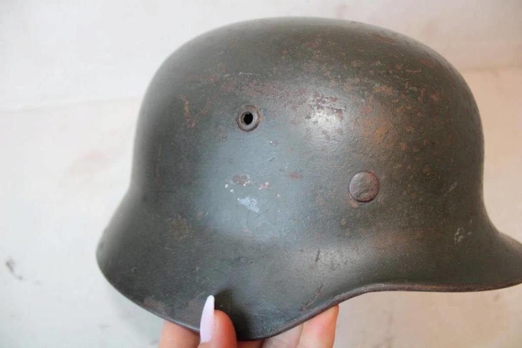 Casque allemand m35 reconditionné 40 4a483110