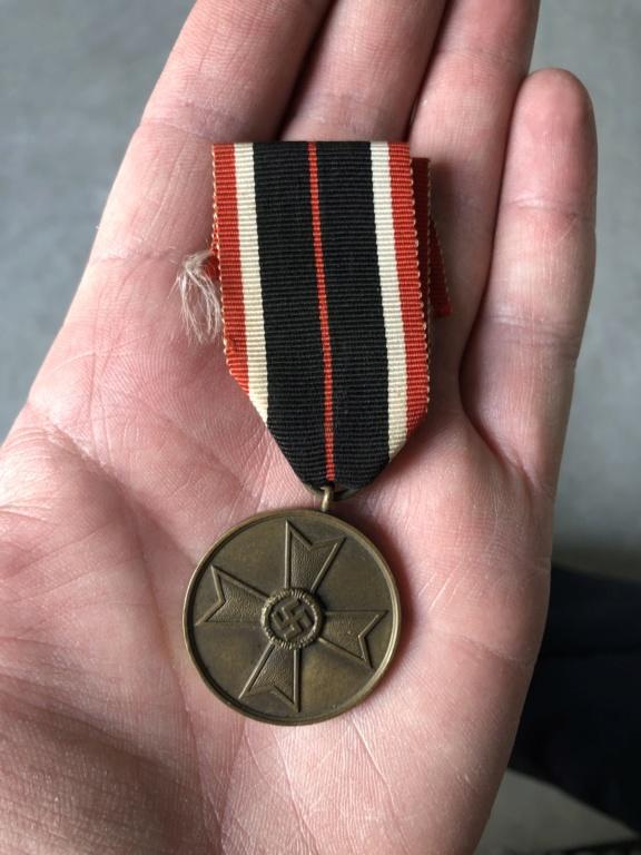 Médaille allemande ww2  4abff610