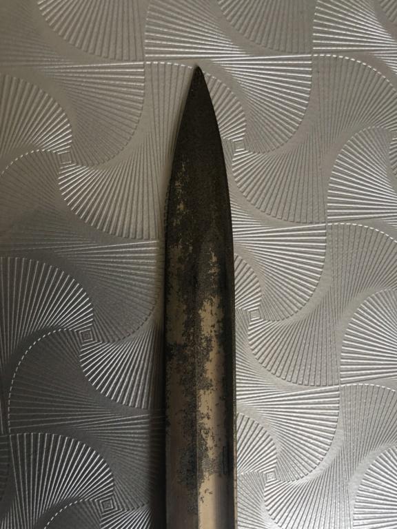 Baïonnette allemande à identifier  5b735610