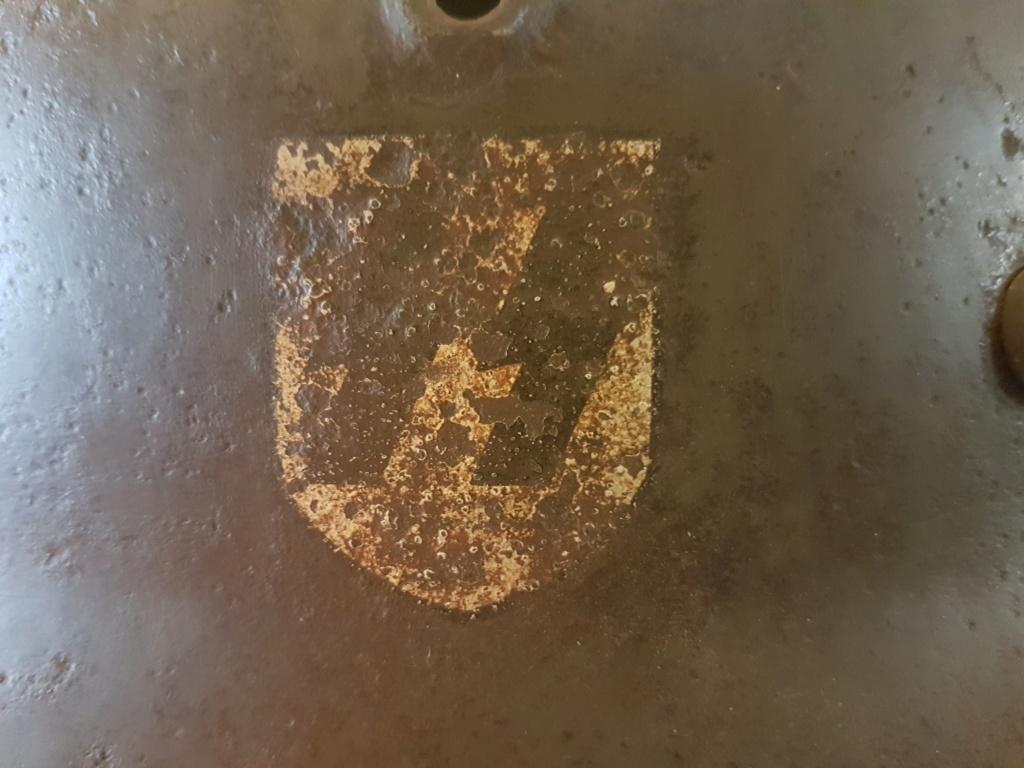 Casque allemand m40 ss  8cc97410