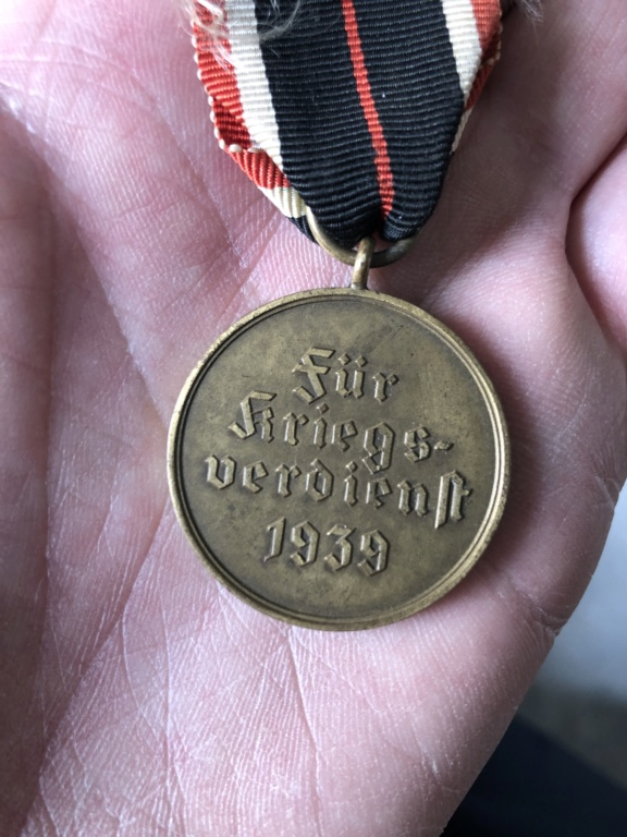 Médaille allemande ww2  Db279210